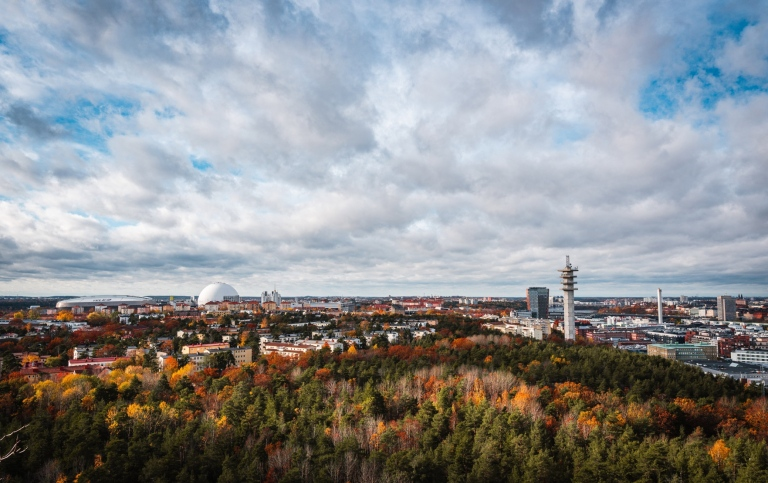Stockholm skyline. Photo: Patrik Carlberg/Unsplash