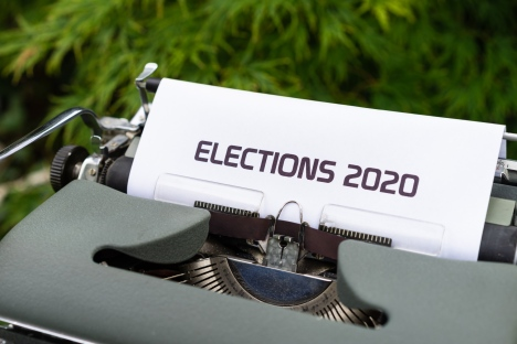 Elections 2020. Photo by Markus Winkler on Unsplash.