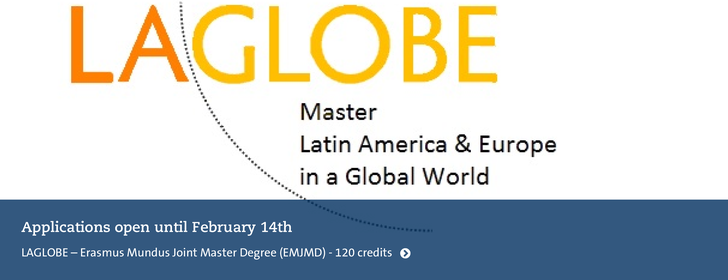 LaGLobe  masterprograme - Apply Until February 14th