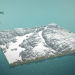 3D model of the Hardanger fjord