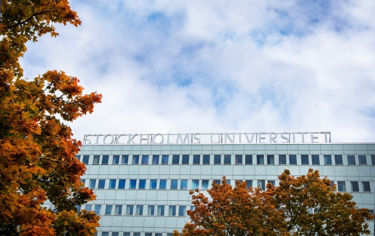 Stockholm University. Photo: Ingmarie Andersson