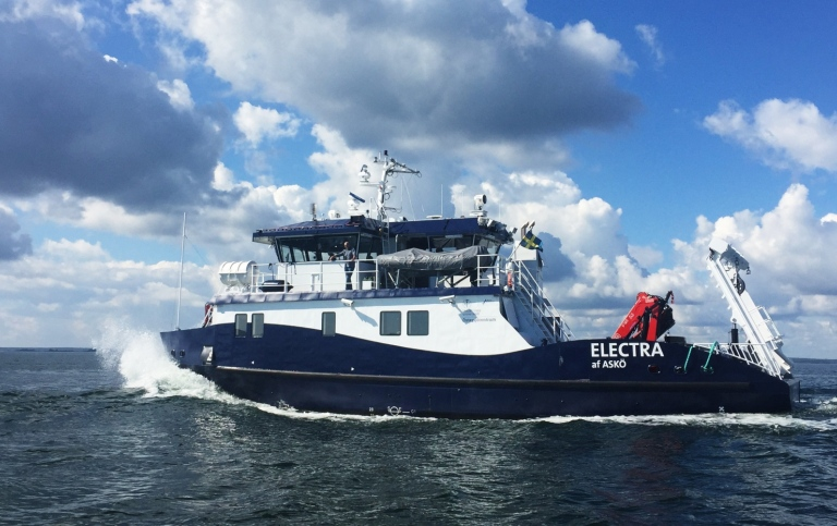Research vessel Electra from Stockholm university