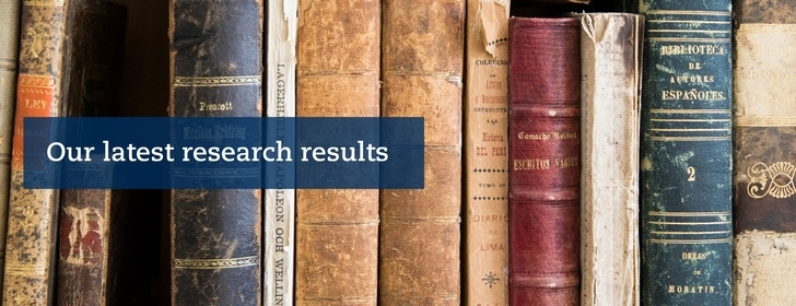 Our latest research results