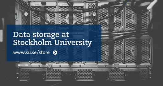 Data storage at Stockholm University. Photo: Kvistholt Photography on Unsplash