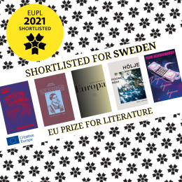Nominerade till The European Union Prize for Literature 2021. Bild från: www.euprizeliterature.eu