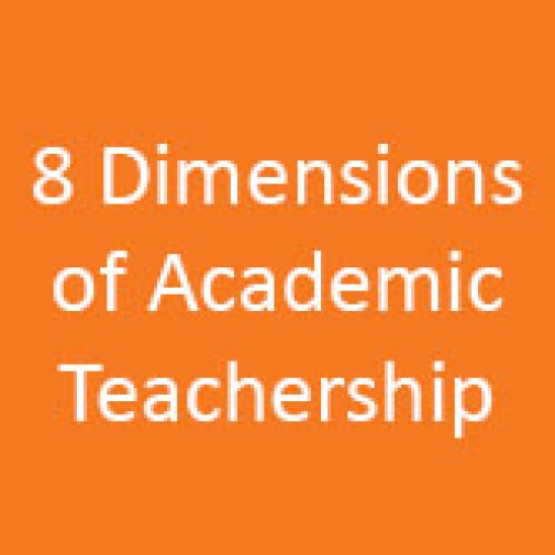Eight dimensions of Academic Teachership