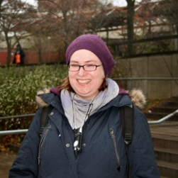German exchange student Veronica Christaller came to Stockholm to brush up her Swedish