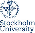 Stockholm university logo, link to start page